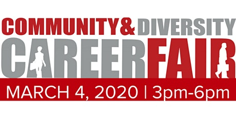 Community & Diversity Career Fair - TEMPE   Meet with 20+ Diverse Hiring Companies   March 4, 2020 tickets