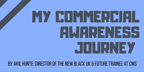 My Commercial Awareness Journey tickets