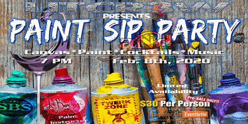 Paint, Sip, and Party
