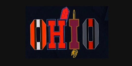 DIY pretraced OHIO Sports Fans Wood Painting with any colors. Paint and Sip tickets