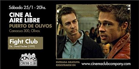 Cine al Aire Libre en Gastronomada - El Club de la Pelea entradas