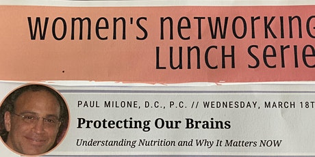 Protecting Our Brains - Understanding  nutrition and why it Matters! tickets