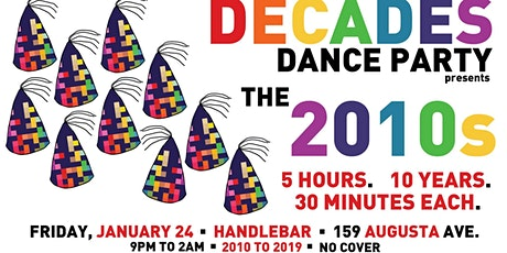 Decades Dance Party presents the 2010s tickets
