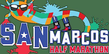 San Marcos Half Marathon, 10k and 5k tickets