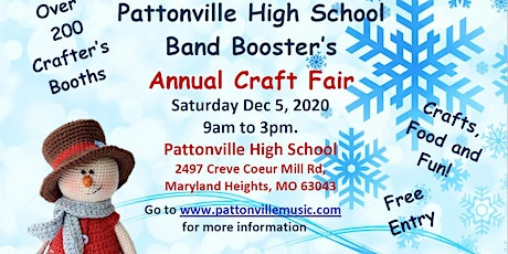 2020 PATTONVILLE BAND BOOSTERS CRAFT FAIR tickets