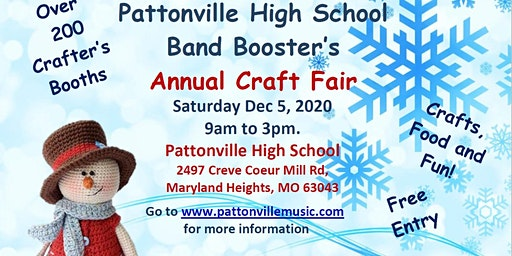 2020 PATTONVILLE BAND BOOSTERS CRAFT FAIR