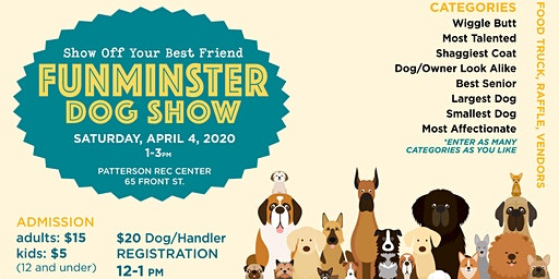 2nd Annual FUNMINSTER Dog Show