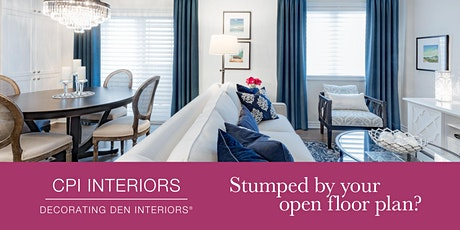 Stumped by your open floor plan? tickets