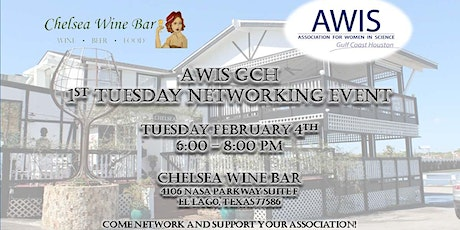 AWIS GCH 1st Tuesday Networking Event February 2020! tickets