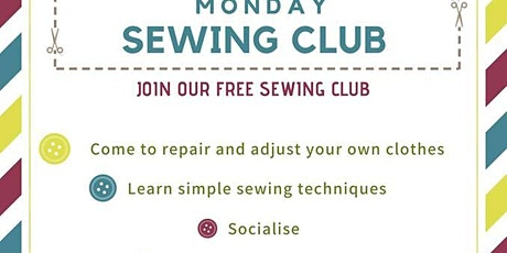 Monday Sewing Club tickets