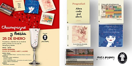 Poesía con Champagne · Presentación nuevos lanzamientos entradas