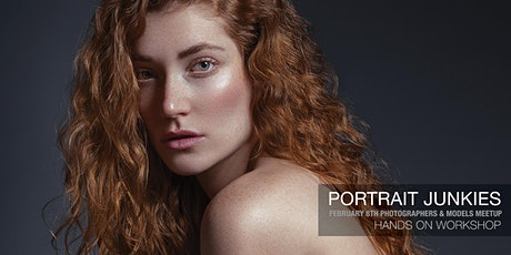 Portrait Junkies Photographers & Models Monthly Meetup tickets