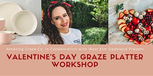 Valentine's Day Graze Platter Workshop