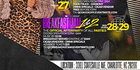Queen City Omegas Legendary Breakfast Jams tickets