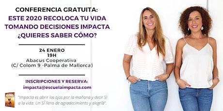 CONFERENCIA DECISIONES IMPACTA entradas
