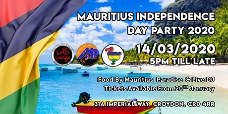 Mauritius Independence Day Party 2020 tickets