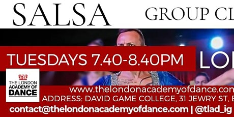 Salsa Group Lessons tickets