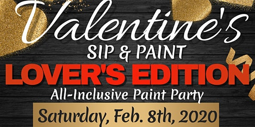 Valentine's Paint & Sip Lover's Edition