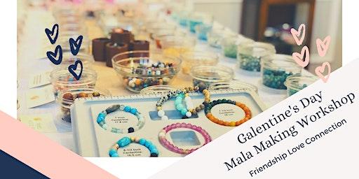 Galentine's Day Mala Bracelet & Bath Salts