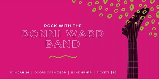 Rock with The Ronni Ward Band in Support of Suicide Prevention