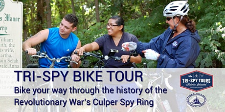 Tri-Spy Bike Tour (Multiple Dates) tickets