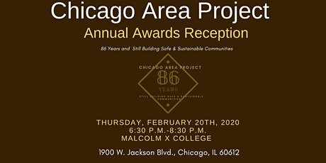 Chicago Area Project Annual Meeting tickets