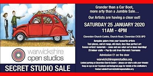 Secret Studio Sale - Warwickshire Open Studios - Art, Craft and Design Show
