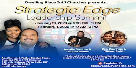 Strategic Edge Leadership Summit tickets