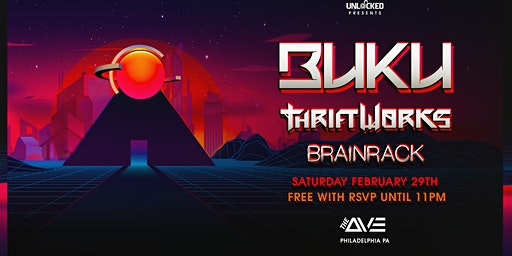 Buku & Thriftworks at The Ave Live