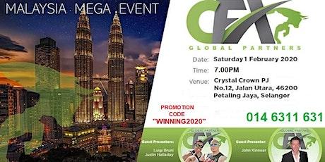 CASH FX MALAYSIA MEGA LIVE EVENT tickets
