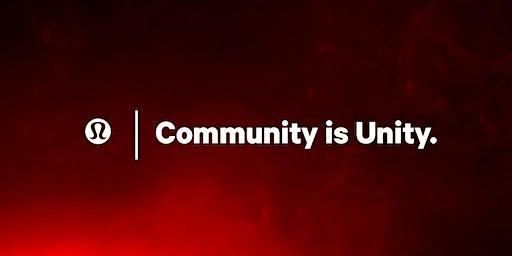 O Studio Yoga Class x lululemon | COMMUNITY IS UNITY