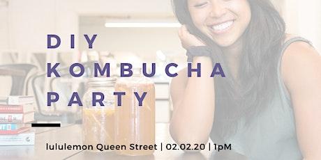 DIY Kombucha Party - Feb 2020 tickets