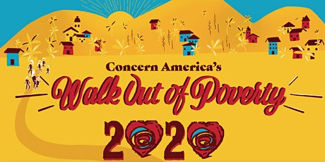 Concern America's 2020 Walk Out of Poverty tickets