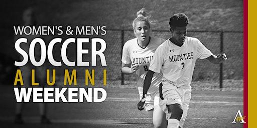 MtA Women's & Men's Soccer Alumni Weekend