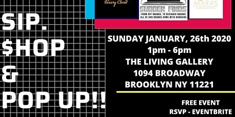 Sip, $hop & POP UP!!! tickets