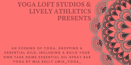 Candlelight Yoga & Essential Oil Spray Bar tickets