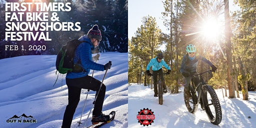 First Time Fat Bikers & Snowshoers Meetup