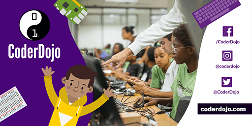 [FREE FOR KIDS] - CoderDojo Vauxhall @ Tate South Lambeth Library (Jan, 2020)