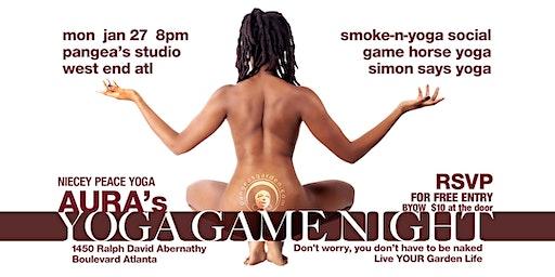 Niecey's Yoga Game Night