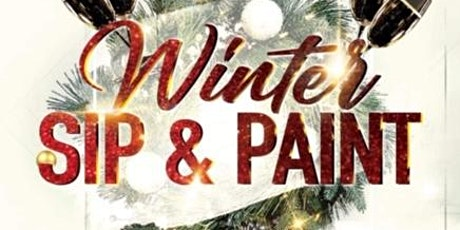 Winter Sip & Paint tickets