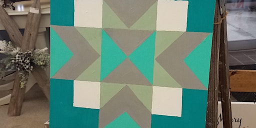 Barn Quilt Painting Class.