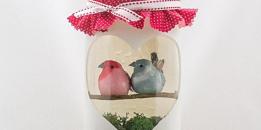 After Hours @ the Library: Love Bird Mason Jars