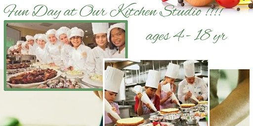 Kids Cooking Class::::::  Fun day at our Kitchen Studio!!!!