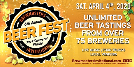 2020 Brewmaster's Invitational Beer Festival tickets