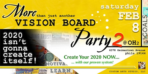 More Than Just Another VISION BOARD Party: PART 2!!