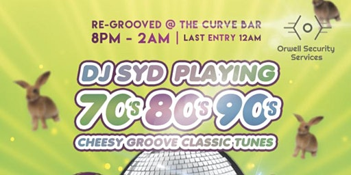 RE Grooved Easter Saturday at Curve Bar