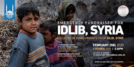 Emergency Fundraiser for Idlib · collecte de dons urgente pour Idlib