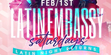 LATIN EMBASSY SATURDAYS RETURNS TO CASA CANA tickets