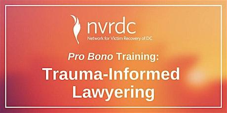 Trauma-Informed Lawyering tickets
