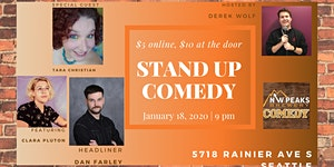 Stand Up Comedy Show: January 18th